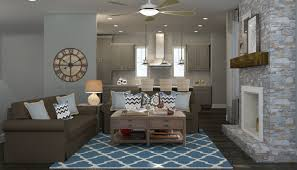 Modern Rustic Living Room Design Ideas Fireplace On A Budget Full Size