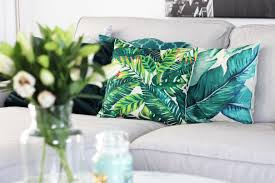 unsere wohnzimmer deko in gruen gold tantedine 002