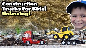 Construction Truck Videos For Children RC Tractor Trailer ... Cstruction Trucks Toys For Children Tractor Dump Excavators Truck Videos Rc Trailer Truckmounted Concrete Pump K53h Cifa Spa Garbage L Crane Flatbed Bulldozer Launches Ferry Excavator Working Tunes 1 Full Video 36 Mins Of Truck Videos For Kids Vehicles Equipment The Kids Picture This Little Adorable Road Worker Rides His Tonka Toy Tow And Toddlers 5018 Bulldozers Vs Scrapers