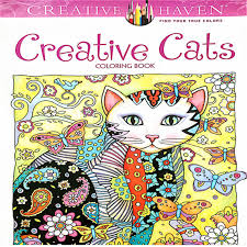 24 Pages Creative Cats Coloring Book For Kids Antistress Secret Garden Series Relieve Stress Kill Time Painting Drawing In Books From Office School