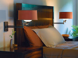 Headboard Lights For Reading by Interior Swing Arm Wall Mount Bedroom Reading Light Over