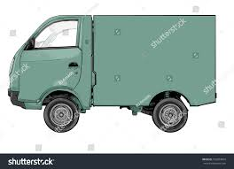 Small Truck Delivery Truck Illustration Stock Illustration 532874854 ...