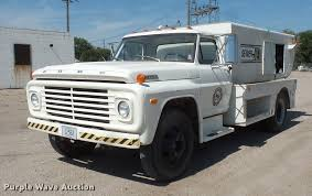100 Sewer Truck 1972 Ford 600 Sewer Jetter Truck Item FT9823 SOLD Octob