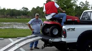 100 Aluminum Loading Ramps For Pickup Trucks Riding Lawn Mower Awesome Tailgator Ramp System Use YouTube