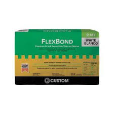 custom building products flexbond white 50 lb prevention