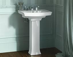 pedestal sinks buying and installing a bathroom pedestal sink