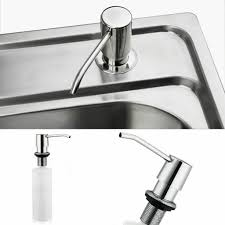 kunststoff einbau seifenspender spülmittelspender küche badezimmer zubehör
