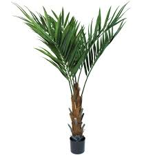 Fake Plants For The Bathroom by Pure Garden 60 In Kentia Palm Tree 50 6564 Ep The Home Depot