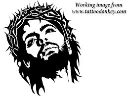 Simple Jesus Tattoo 17 MTS Allison731 1236089 JesusChrist OriginalImage