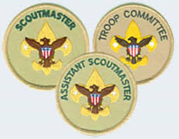 Cub Scout Committee Chair Patch Placement by Troop Leadership Boy Scout Troop 122