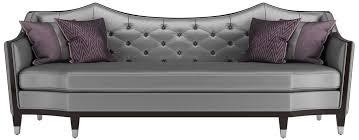 casa padrino luxus wohnzimmer sofa silber dunkelbraun 253 x 95 x h 105 cm luxus qualität luxus wohnzimmer möbel
