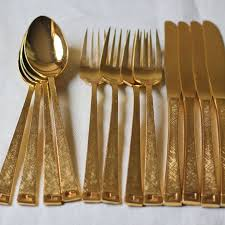 Gold Flatware Set - Cbaarch.com Storage Bins Pottery Barn Metal Canvas Food Gold Flatware Set Cbaarchcom Ikea Mobileflipinfo Setting A Christmas Table With Reindeer Plates Best 25 Rustic Flatware Ideas On Pinterest White Cutlery Set Caroline Silver20 Piece Service For The One With The Catalog And Winner Yellow Woodland Fall By Spode Fall Smakglad 20piece Ikea Ideas For Easter Brunch Fashionable Hostess