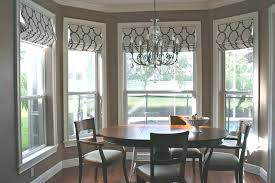 Dining Room Window Ideas Bay Small Windows Table Home Design Drapery