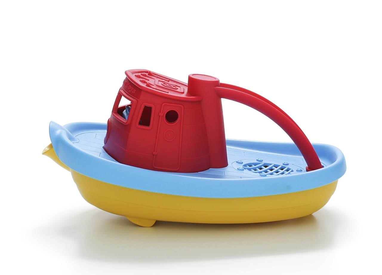 My First Green Toys Tugboat Toy