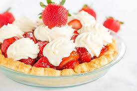 Strawberry Pie This fresh strawberry pie is homemade from my favorite crust
