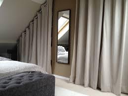 rideaux pour placard de chambre rideau pour sous pente gallery photo décoration chambre 2018