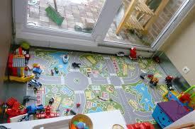 tapis de jeux voitures les2koalas salle de jeux