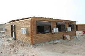 bungalow bureau bungalows modulaires de chantier avec salle de réunion vestiaire