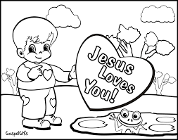 Religious Coloring Pages For Kids 2 Christian 2453