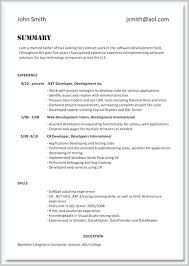 Profile Section Of Resume Example Examples Skills Eczalinf