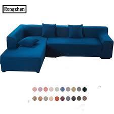 housse canape d angle couverture sur le canapé d angle mordern coloré noir blanc coupe