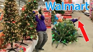 RKOing CHRISTMAS TREES In WALMART