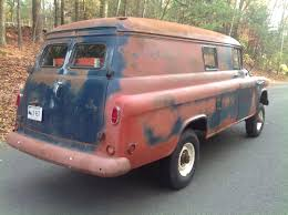 100 1957 Chevy Panel Truck BangShiftcom NAPCO