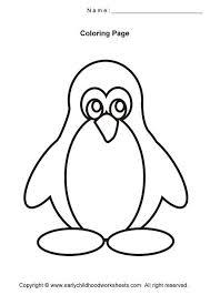Best 25 Penguin Coloring Pages Ideas On Pinterest