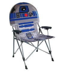 Folding Patio Chairs Amazon by Amazon Com Star Wars R2d2 Full Size Folding Hard Armrest Chair