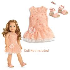 Amazoncom American Girl Shimmer Lace Dress For Dolls MY AG