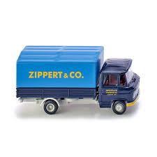 Wiking 027101 - MB L 408 Flatbed Truck