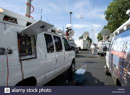 Satellite Trucks In Parking Lot Of LBJ Library In Austin TX Stock ... Pmtv Sallite Uplink Trucks For Broadcast Live Streaming Trucks At The Coverage Of Timothy Mcveighs Exec Flickr Side Loader New Way The Best To Transmit Data In Really Wired 3d Rendering On Road With Path Traced By Stock Espn Gameday Truck Was Parked Nearby 2012 Us Presidential Primary Covering Coverage Tv News Broadcast Live With Antenna And Sallite Tv Truck Parabolic Frm N24 Channel Media Descend On Jpl Nasas Mars Exploration Program Rear View Of White Television Multiple