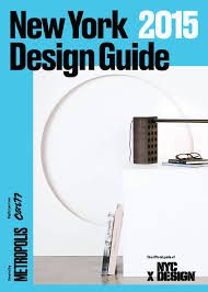 The ficial Guide to NYCxDesign New York s Annual Design Festival
