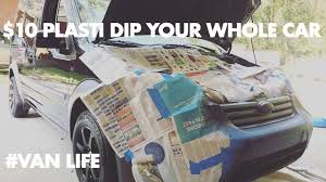 How To Black Out Your Car Trim With Plasti Dip