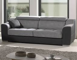 canapé 3 places gris canape gris en tissu 3 places hcommehome
