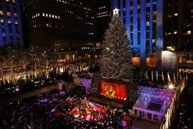 Fun And Frolic At The Rockefeller Center Christmas Tree Lighting Ceremony