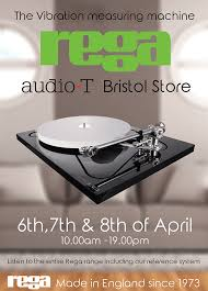 Sinks Of Gandy Directions by Rega Reference Event At Audio T Bristol