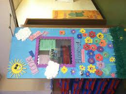 Spring Door Decorations For Preschool Craft Ideas Completed Items Decoration