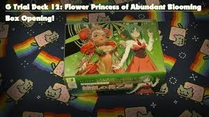 Trial Deck 9 by Cardfight Vanguard G Trial Deck 12 Flower Princess Of Abundant