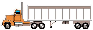 Semi-trailer Truck 18 Wheeler: American Pro Trucker Line Art Free ...