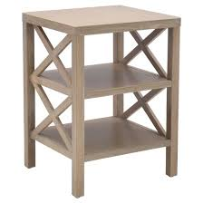 owings end table with 2 shelves threshold target