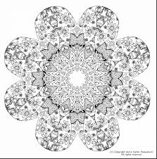Beautiful Adult Coloring Pages Printable Stress Relief With Free Mandala For Adults And