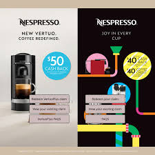 $50 Cashback With The Purchase Of A Nespresso VertuoPlus ... Npresso Coupon Code Uk Joann Fabrics Coupons Text Newegg Business Coupon Pour Iogo Grocery Gems Review Master Origin Nicaragua Linen Chest Canada Players Choice 2018 Hawaiian Rolls Gourmesso Decaf Peru Dolce 5x Pack 50 Coffee Capsules Compatible With Npresso Cups Kortingscode Voucher Bed Bath And Beyond Croscill Spine Sdentuniverse Flight Baileys Chainsaw Call Of Duty Advanced Wfare Pods Deals Steals Glitches