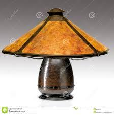 Mica Lamp Shade Company by Arts And Crafts Mica Shade Table Lamp Editorial Image Image 8620510