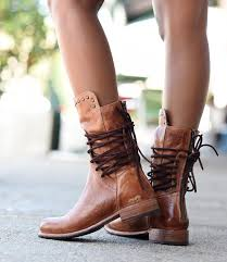 Bed Stu Gogo Boots by Fen Cognac Short Boots Women Bed Stu