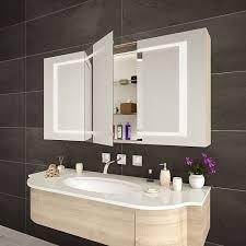 spiegelschrank für das bad mit led el paso
