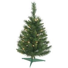 7ft Artificial Christmas Tree With Lights by Artificial Christmas Trees Prelit Table Top Artificial Christmas