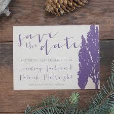 Rustic Elegant Wedding Save The Date Invite Card On Kraft