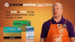 choosing the right mortar for tile setting