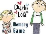 Charlie And Lola Memory Game